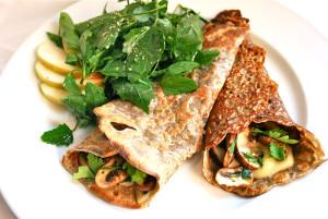crepes con proteina whey salados