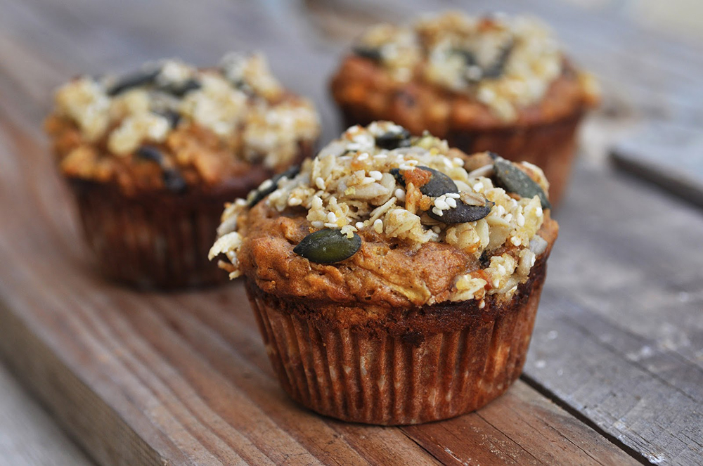 muffins con proteinas