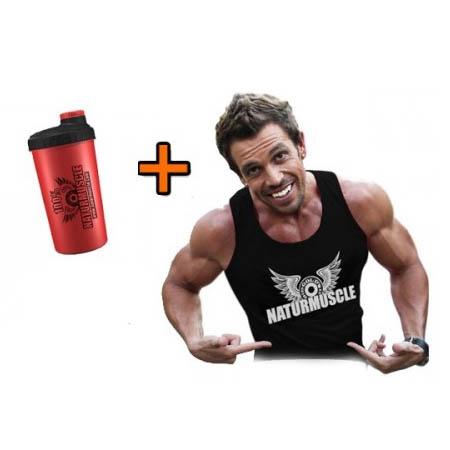 Camiseta de entrenamiento + Mezclador