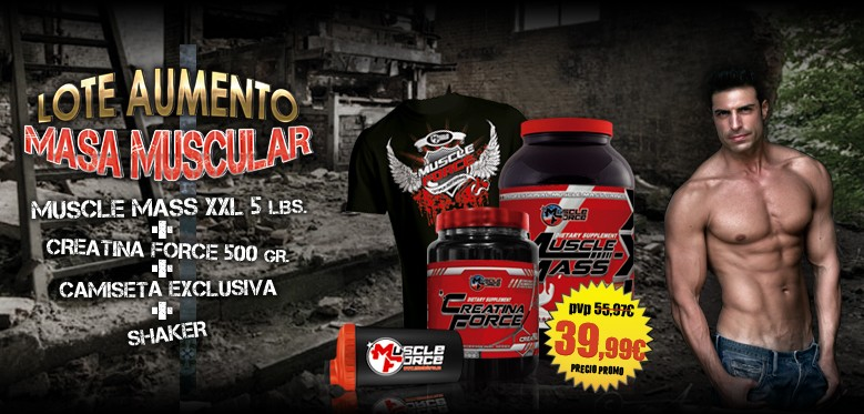 Pack Aumento Calidad Muscular
